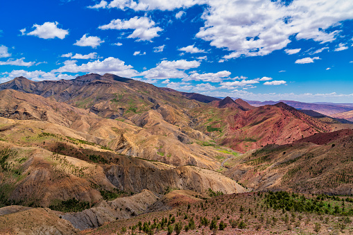 アトラス山脈「美しい山の景色」:スマホ壁紙(5)