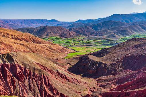 アトラス山脈「美しい山の景色」:スマホ壁紙(2)