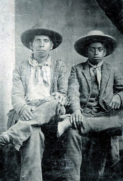 African Ethnicity「Native American And African American Cowboys」:写真・画像(9)[壁紙.com]