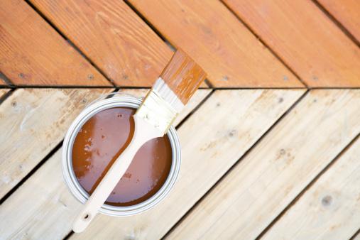 Home Addition「Staining hardwood patio deck」:スマホ壁紙(9)