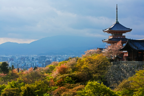 Kyoto Prefecture「view of temple」:スマホ壁紙(11)