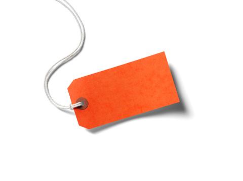 Sale「Orange Paper Label」:スマホ壁紙(5)