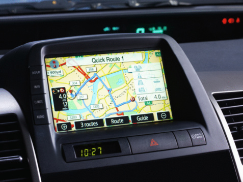 Parsons Green「Car Sat Navigation system.」:スマホ壁紙(12)