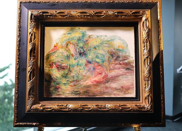"Art「Renoir's ""Femmes Dans Un Jardin"" Stolen By Nazis Returned To Heir Of Rightful Owner In New York」:写真・画像(19)[壁紙.com]"