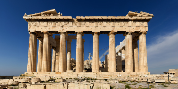 Restoring「Athens Acropolis Parthenon perspective correct」:スマホ壁紙(5)
