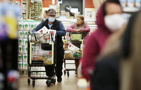 Retail「Stores Offer Shopping Times For Elderly And Vulnerable Citizens To Protect Against Coronavirus Transmission」:写真・画像(0)[壁紙.com]