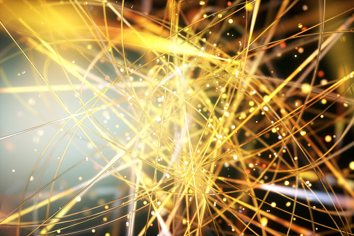 Big Data「Network wires, conceptual artwork」:スマホ壁紙(19)