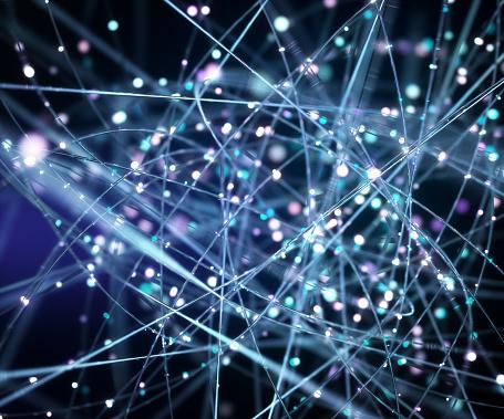 Big Data「Network wires, conceptual artwork」:スマホ壁紙(8)