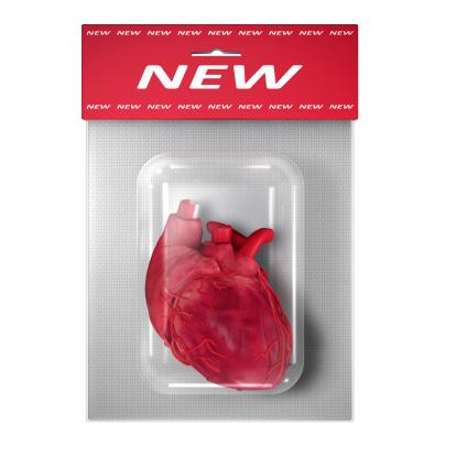 Human Internal Organ「New (Human) Heart in a blister pack on white」:スマホ壁紙(0)