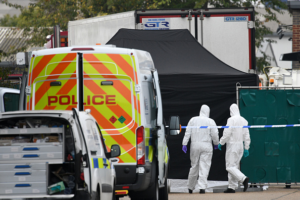 Semi-Truck「39 Bodies Discovered In Lorry In Thurrock」:写真・画像(4)[壁紙.com]