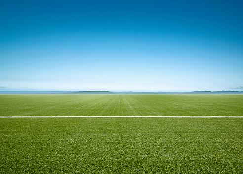 Agricultural Field「Football Field」:スマホ壁紙(1)