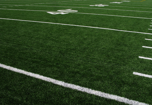 Sports Team「Football Field Forty Yardline Artificial Turf」:スマホ壁紙(13)