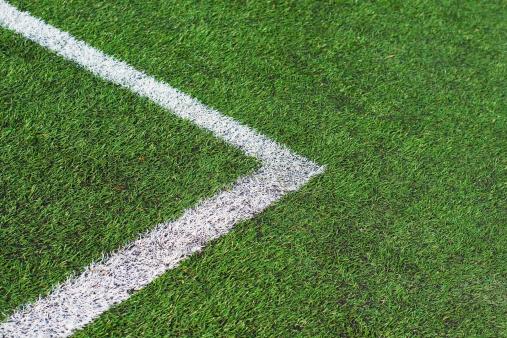 Corner Marking「Football field」:スマホ壁紙(9)