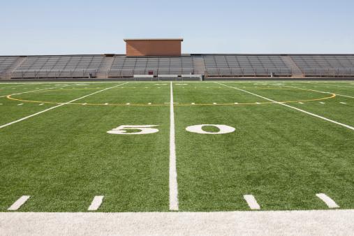 Yard Line - Sport「Football field and stadium」:スマホ壁紙(14)