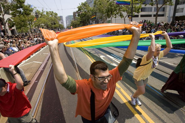 David Paul Morris「San Francisco Celebrates Gay Pride With Annual Parade」:写真・画像(3)[壁紙.com]