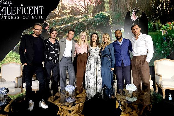 """アンジェリーナ・ジョリー「Global Press Conference for Disney's """"Maleficent:  Mistress of Evil""""」:写真・画像(9)[壁紙.com]"""