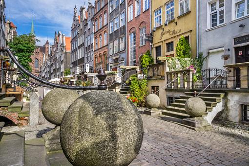 Balustrade「Mariacka Street porches Gdansk」:スマホ壁紙(19)