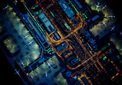 Complexity「The sky of Tokyo International Airport(Haneda)」:スマホ壁紙(10)