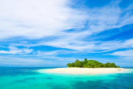 Island「Lonely tropical island in the Caribbean」:スマホ壁紙(3)