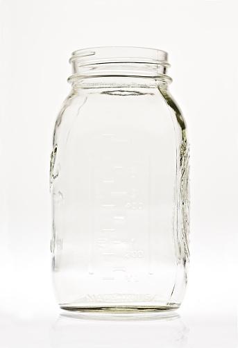 Jar「Empty Clear Glass Canning Jar」:スマホ壁紙(1)
