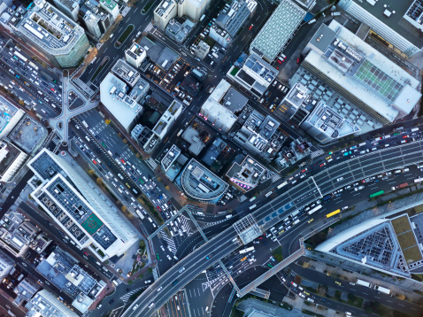Tokyo - Japan「Bird's eye view」:スマホ壁紙(19)