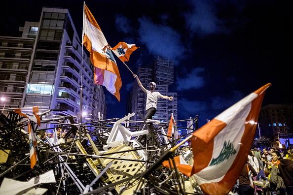 Tent「Prime Minister Hariri Resigns Amidst Continuing Protests」:写真・画像(6)[壁紙.com]