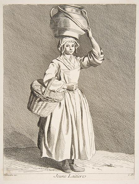 Etching「Young Milkmaid」:写真・画像(1)[壁紙.com]