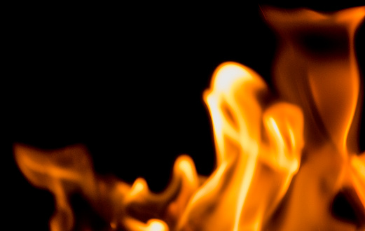 Hell「Flame Patterns on a black background giving an abstract effect perfect for backgrounds.」:スマホ壁紙(14)