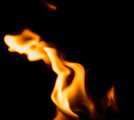 Hell「Flame Patterns on a black background giving an abstract effect perfect for backgrounds.」:スマホ壁紙(1)