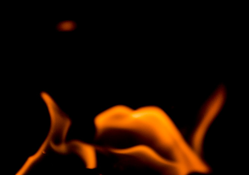 Hell「Flame Patterns on a black background giving an abstract effect perfect for backgrounds.」:スマホ壁紙(12)
