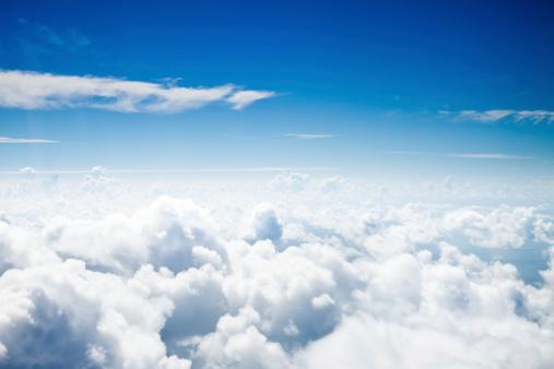 Cumulus Cloud「Over the Clouds」:スマホ壁紙(13)