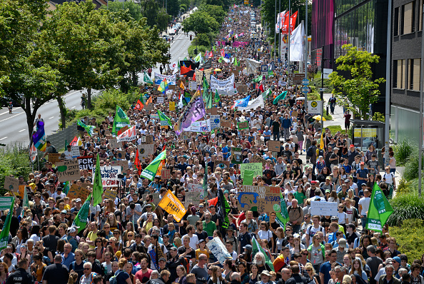 Environmental Conservation「Fridays For Future International March In Aachen」:写真・画像(12)[壁紙.com]