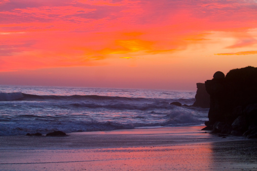 City of Monterey - California「Sunset on Monterey Bay,  California, USA」:スマホ壁紙(0)