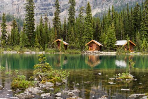 Yoho National Park「Lake O'Hara, cabins」:スマホ壁紙(11)