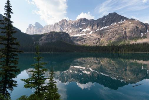 Yoho National Park「Lake O'Hara with Mount Shaffer」:スマホ壁紙(18)