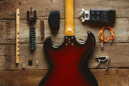 Rock Music「music style portable recording equipment」:スマホ壁紙(17)