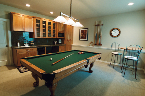 Basement「Billiards Room」:スマホ壁紙(19)