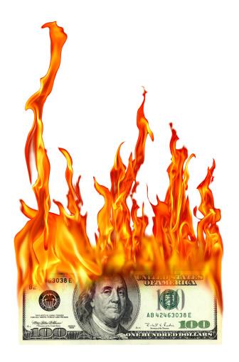 Inferno「isolated burning one hundred dollar」:スマホ壁紙(8)