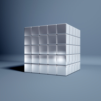 Digital Composite「Magic Cubes」:スマホ壁紙(5)