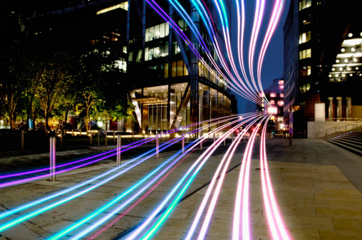 Internet「connection with dynamic  fibre optic light trail」:スマホ壁紙(4)