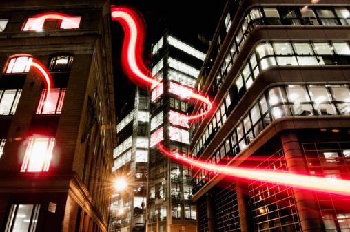 Fiber「connection with dynamic  fibre optic light trail」:スマホ壁紙(8)