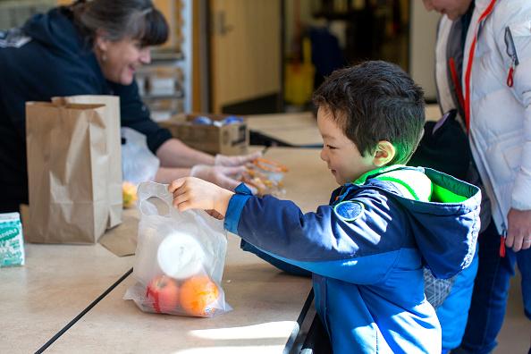 Meal「Schools Across The U.S. Close To Help Stop Spread Of Coronavirus」:写真・画像(10)[壁紙.com]