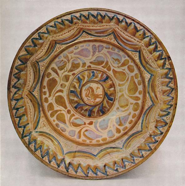Ceramics「Hispano-Moresque Lustre Dish With Blue Fish-Scale Border 15Th Century」:写真・画像(18)[壁紙.com]