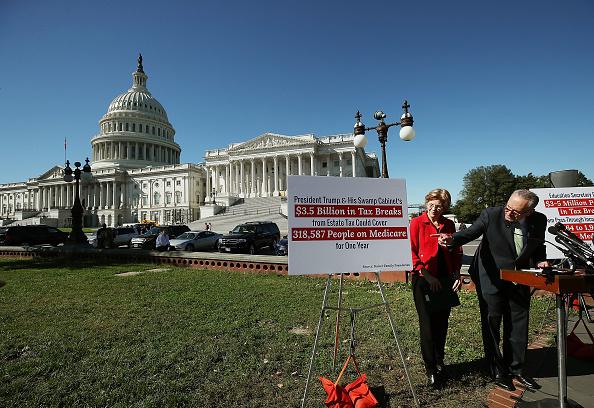 Making Money「Schumer And Warren Reveal New Report On Trump Tax Plan's Benefits For Wealthy」:写真・画像(5)[壁紙.com]