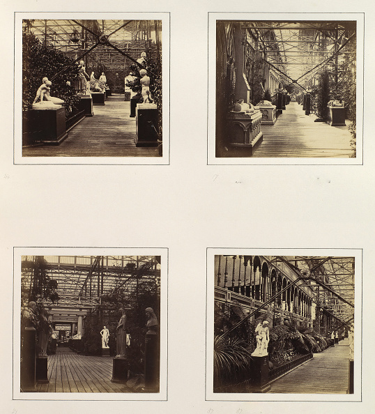 Cast Iron「Court Of French And Italian Sculpture; Avenue In Front Of Fine Arts Courts; View Into」:写真・画像(5)[壁紙.com]