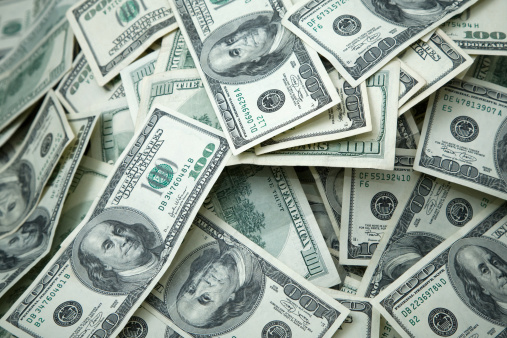 American One Hundred Dollar Bill「Money Pile $100 dollar bills」:スマホ壁紙(7)