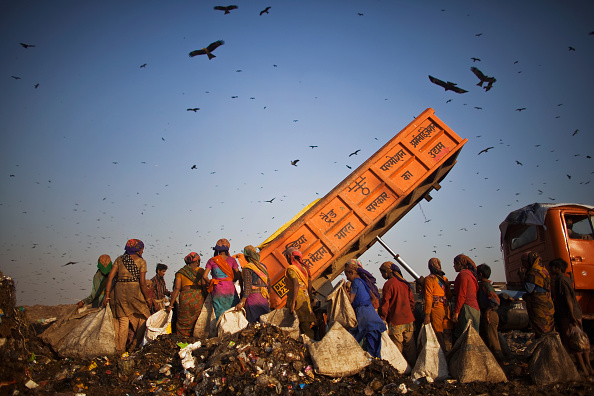 Number 100「Indian Rag Pickers Forage For Recyclables At Delhi Landfill Site」:写真・画像(6)[壁紙.com]
