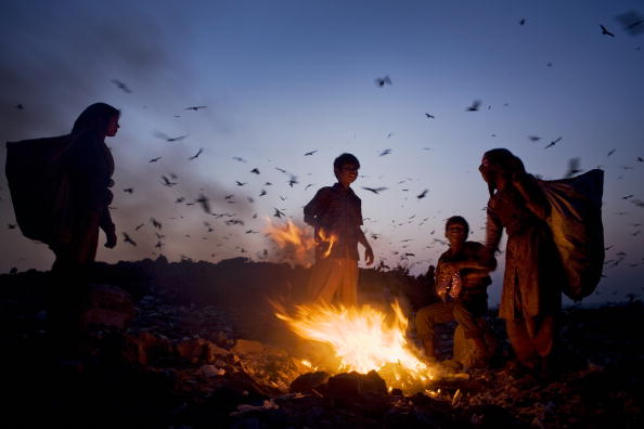 Number 100「Indian Rag Pickers Forage For Recyclables At Delhi Landfill Site」:写真・画像(8)[壁紙.com]
