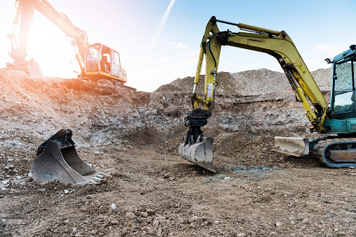 Digging「Construction machinery」:スマホ壁紙(0)