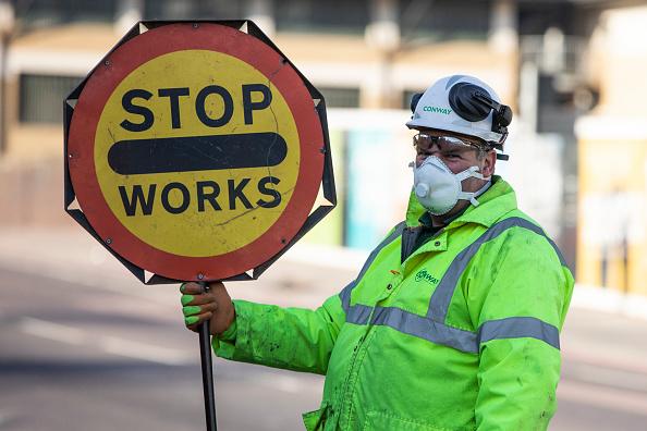 UK「UK On Lockdown Due To Coronavirus Pandemic」:写真・画像(5)[壁紙.com]
